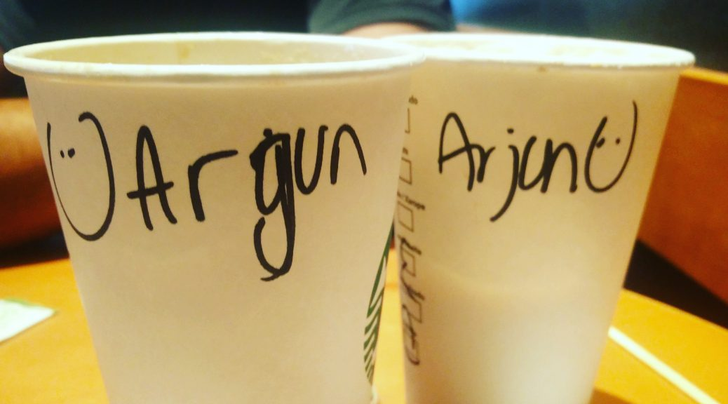 A Starbucks barista's 'tryst' with my name
