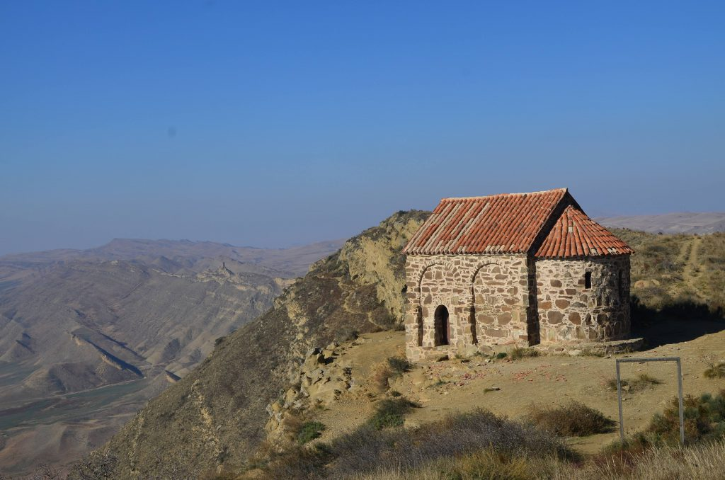 Chapel at the top of the hill